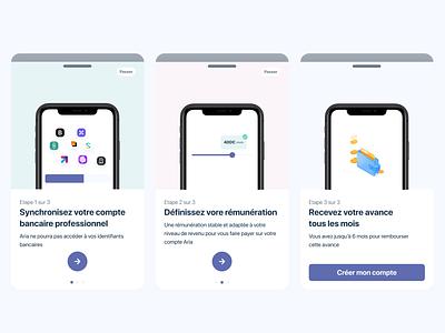 Banking app - Oboarding money transfer money app bank account illustration tutorial walkthrough onboarding mobile app banking app banking bank app