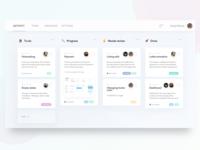 Design team board workflow