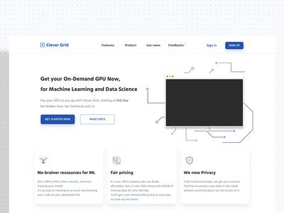 Clever Grid - GPU Cloud service ☁️