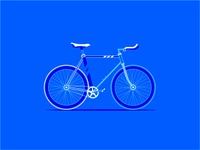 Road Bicycle Illustration