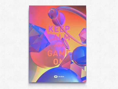 Oculus Retro Poster 1