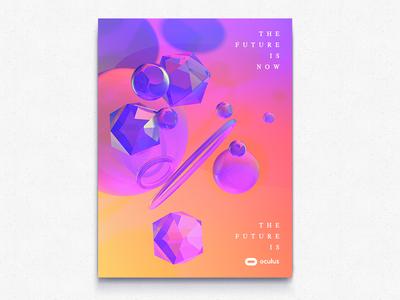 Oculus Retro Poster 2 (A E S T H E T I C  M O D E)