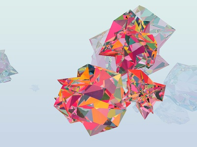 Opalescence In Low Poly