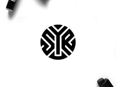 SYR monogram logo minimal logo clothing apparel illustration identity branding logo design typography lettering symbol vector icon monogram syr logo logos logo