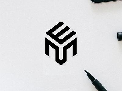 EM/EYM monogram logo minimal logo clothing apparel illustration identity branding logo design typography lettering symbol logotype icon monogram em logo logos logo