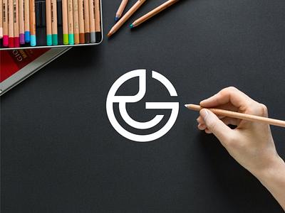 RG monogram logo minimal logo clothing apparel illustration identity branding logo design typography lettering symbol logotype icon monogram rg logo logos logo