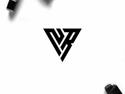NR monogram logo minimal logo clothing apparel identity illustration branding logo design typography symbol lettering logotype icon monogram nr logo logos logo