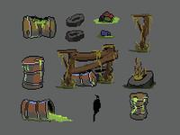 Swamp Environment Game Set