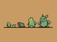 Enemy's For 2d Video Game