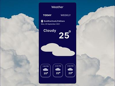 Weather weather 037 dailyui design ui figma