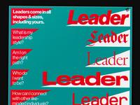 Leadershape poster