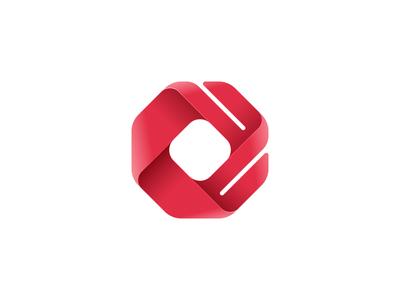 Espcializados Logo brand skeumorfism youtube channel red vector octagon logo