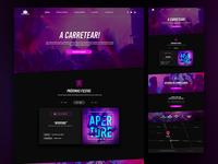 Carpediem Homepage Concept