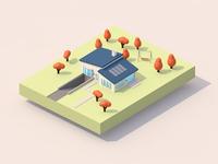 House 3D Paralel