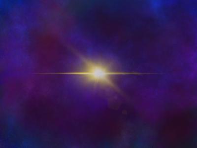 North Star background star