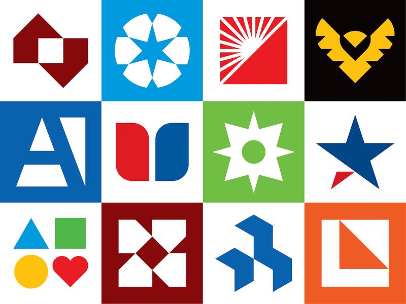 2019 Logofolio Vol. 2 custom type letters letter typography logotype simple minimal minimalistic collection portfolio identity icon branding brand geometric mark logofolio logos logo