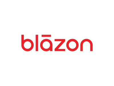 Blāzon Logo friendly approachable wordmark simple accent macron typography type lettering letter logotype logos logo circular circle geometric b red blaze blazon