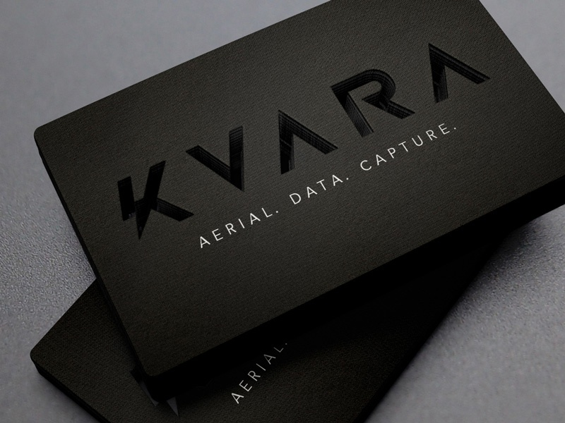 KVARA Business Cards by Aaron Johnson - Dribbble