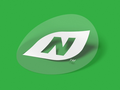 NetNutri Mark wordmark store retail green leaf vitamins health supplements nutrition online nutri net