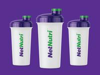 NetNutri Shaker Bottles