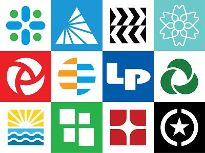 2019 Logofolio Vol. 1 mark icon letter branding brand identity portfolio timeless modern geometric minimalistic logos logo