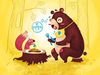 Bears ♥ pancakes