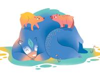 Bear attachment
