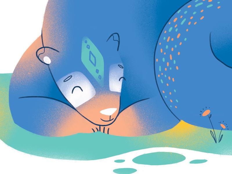 Mama bear detail