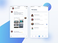Messaging Module Screens