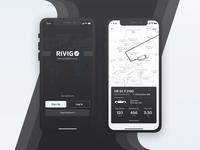 Vehicle Tracking App Screens