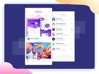 Dribbble App Redesign Concept