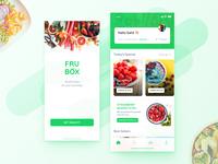 Fruit Subscription App Design