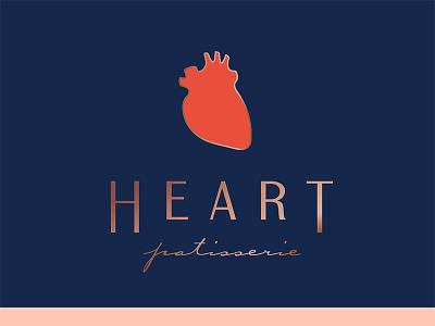 Spreading the love... love branding nashville logo patisserie heart