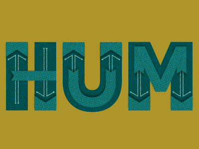 humdrum gold humdrum typography hum blue texture type