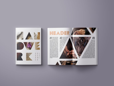 Handwerk Goldschmied graphic design typography lettering design