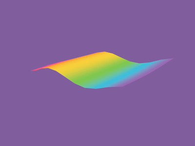3D   Pride Flag after effects colorful lgbtq rainbow cinema 4d 3d flag animation motion pride month june pride