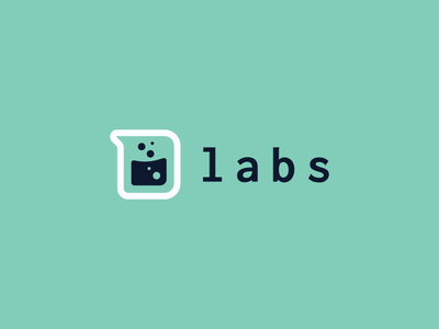 Cartoon Rebrand | Dexter's Labs dexters lab code typography type d beaker logo science color cartoon branding brand