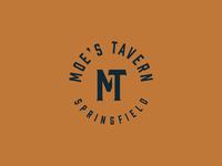 Cartoon Rebrand | Moe's Tavern Monogram
