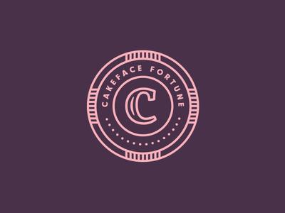 Cakeface Fortune | Mirror Badge