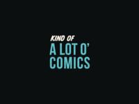 Cartoon Rebrand   Kind of a Lot O' Comics