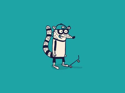 Cartoon Skate Punks | Rigby