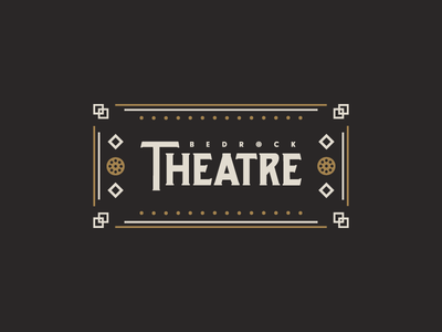 Cartoon Rebrand | Bedrock Theatre