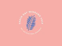 Earth Day | Weekend Sale Badge
