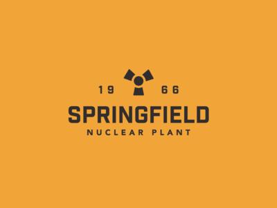 Cartoon Rebrand | Springfield Nuclear Plant