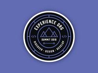 Experience Summit 2018 | Sticker Design