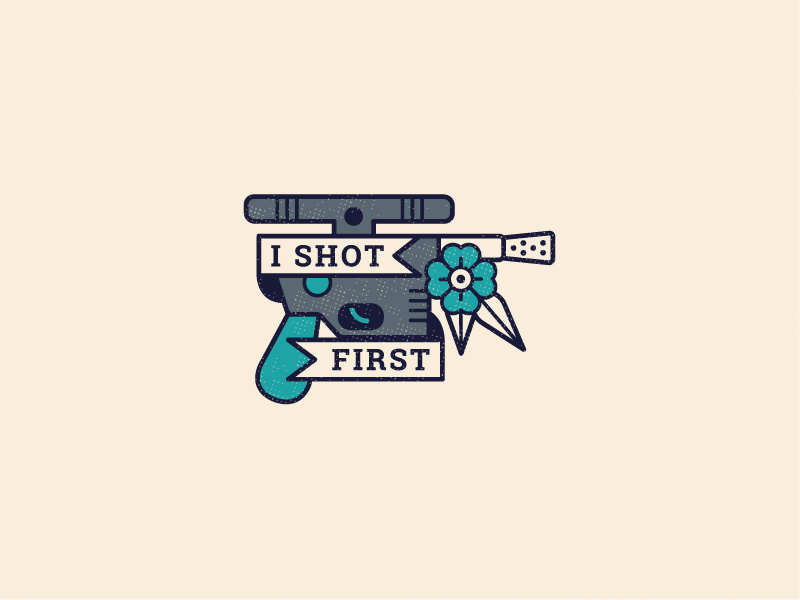 Star Wars Day | I Shot First by Tyler Fortune on Dribbble