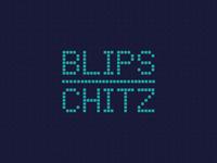 Cartoon Rebrand   Blips & Chitz Wordmark