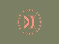 Spirits & Type   NY Sour Badge