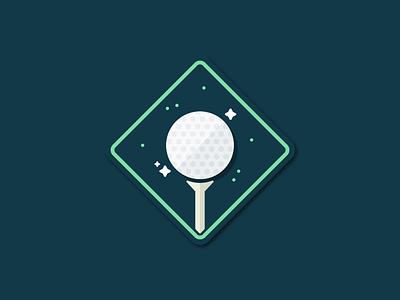 Tribe Illustrations | Golfers tech team sports color illustrator illustration flat simple badge golfer golf pluralsight
