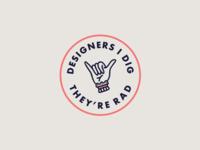 Designers I Dig | Badge